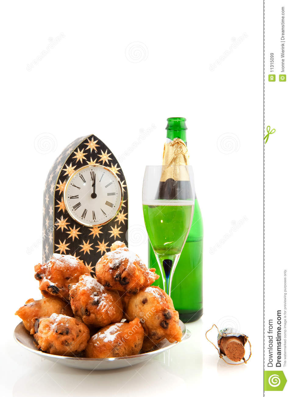 Dutch new years eve stock image. Image of bowl, alcohol ...