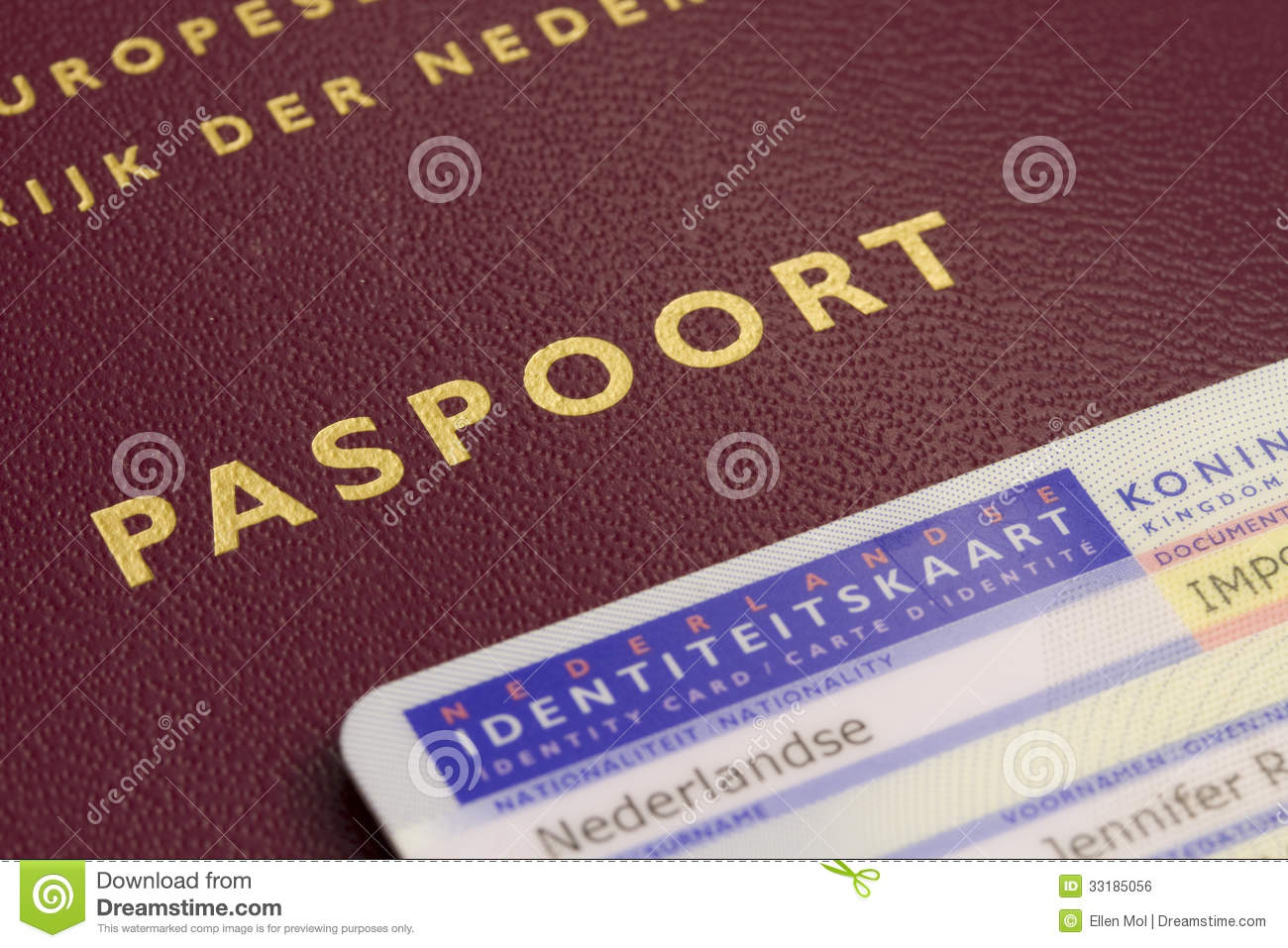 Dutch passport and id card royalty free stock image image 33185056 royalty free stock photo download dutch passport ccuart Choice Image