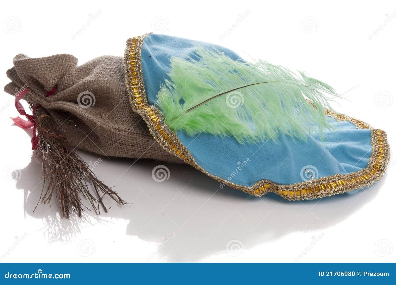 827fe3917cd1b Dutch Sinterklaas Pieten Hat With Roe Stock Photo - Image of ...