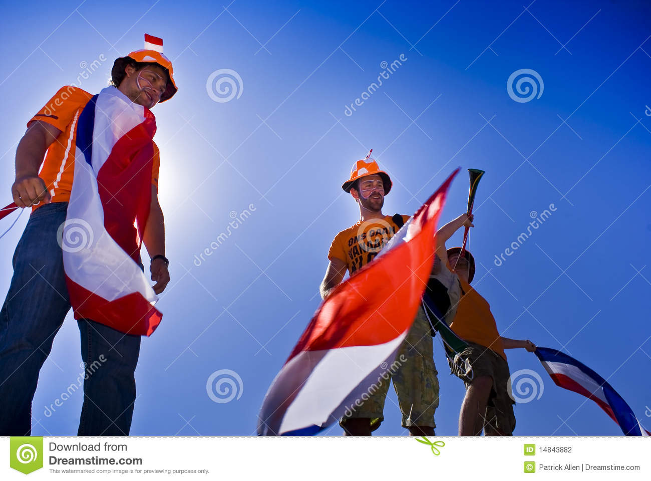 Dutch Soccer Fans - FIFA WC