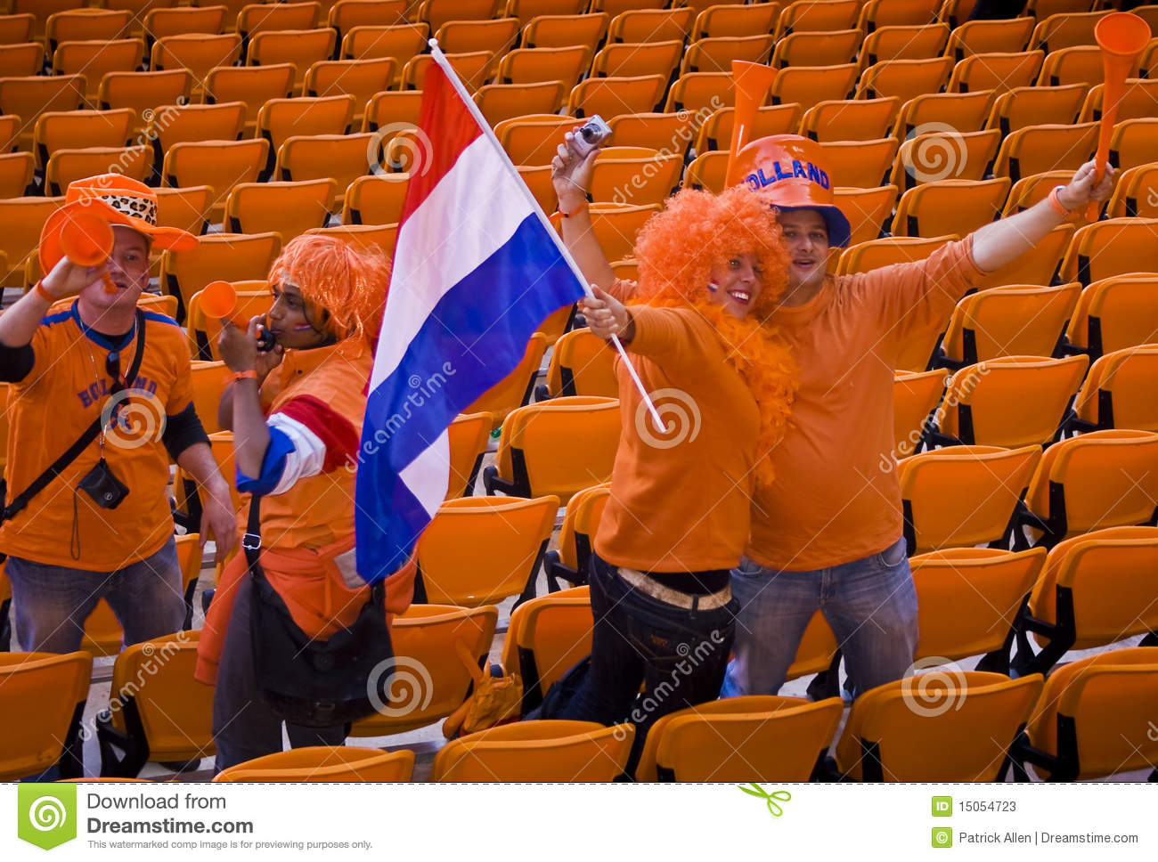 Dutch Soccer Supporters - FIFA WC