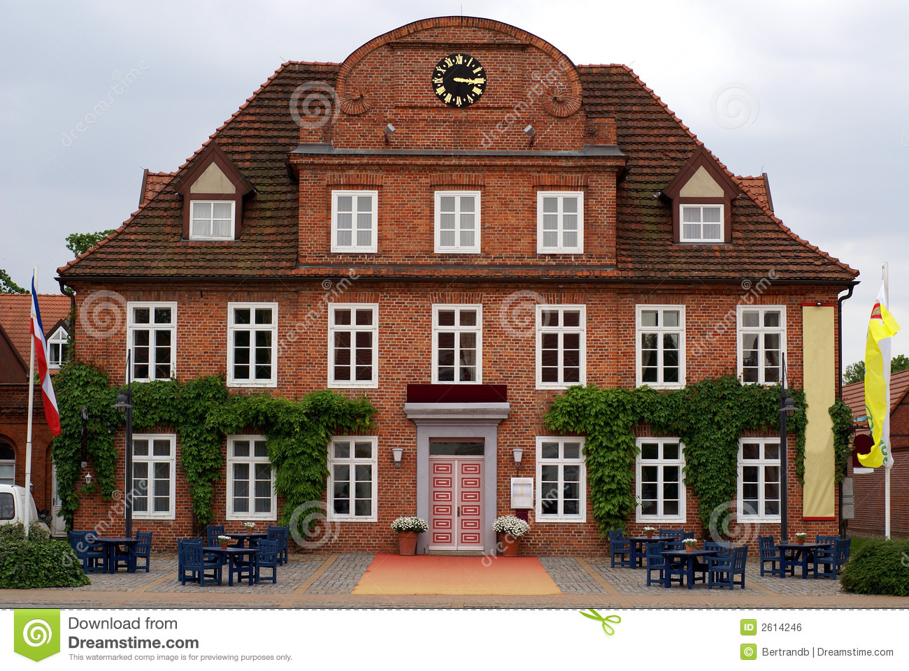 Dutch style house royalty free stock image image 2614246 for Dutch house