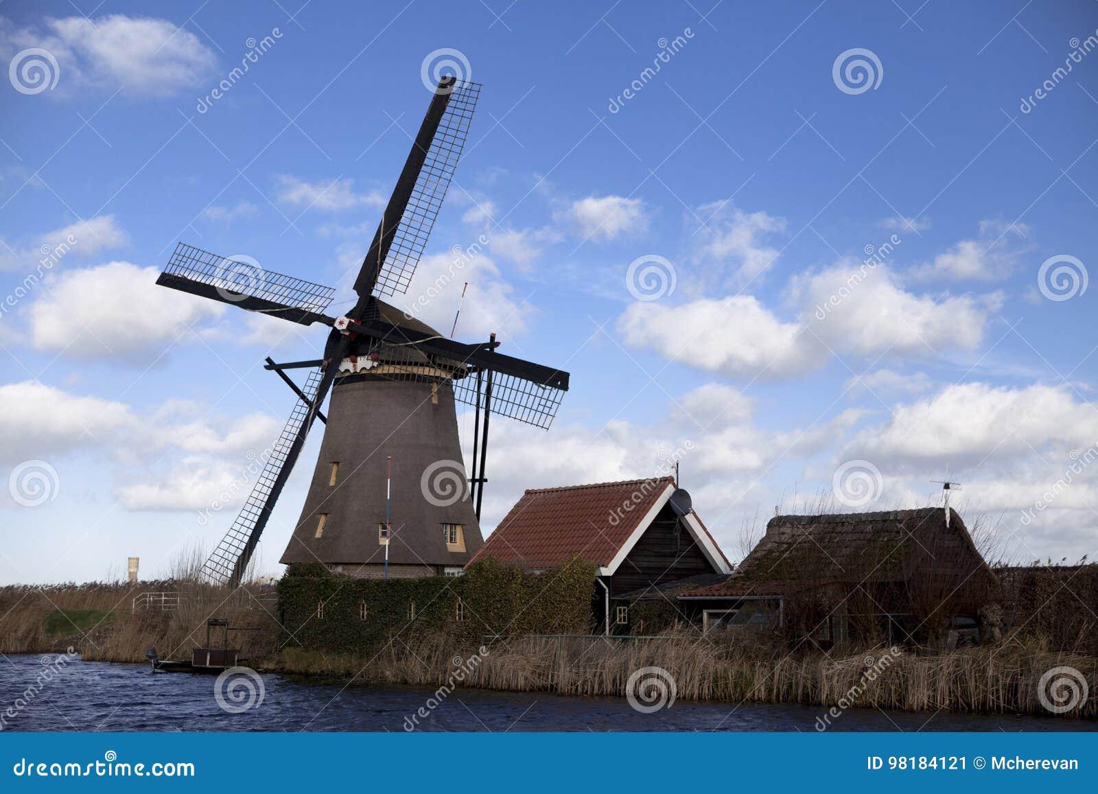 Dutch Windmills Holland Rural Expanses Windmills The Symbol Of