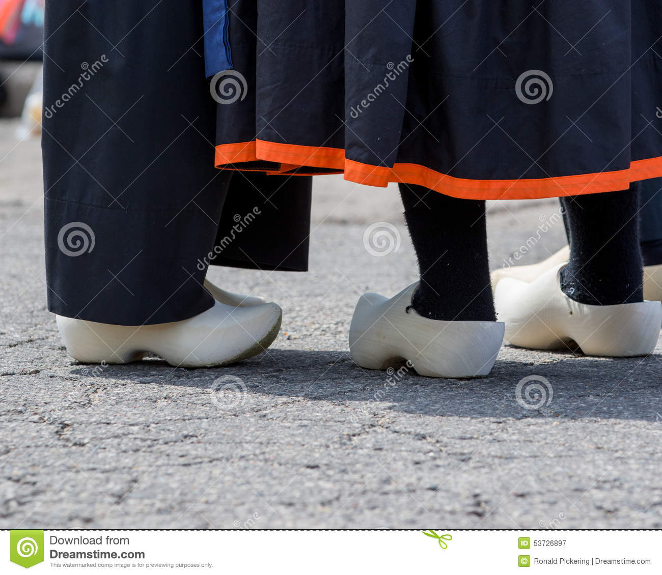 Dutch Wooden Shoes Stock Image Image Of Tulip Festival 53726897