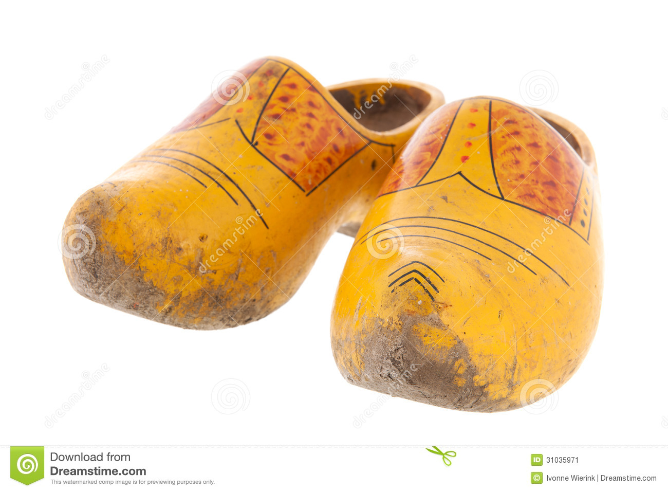 Dutch Wooden Shoes in People