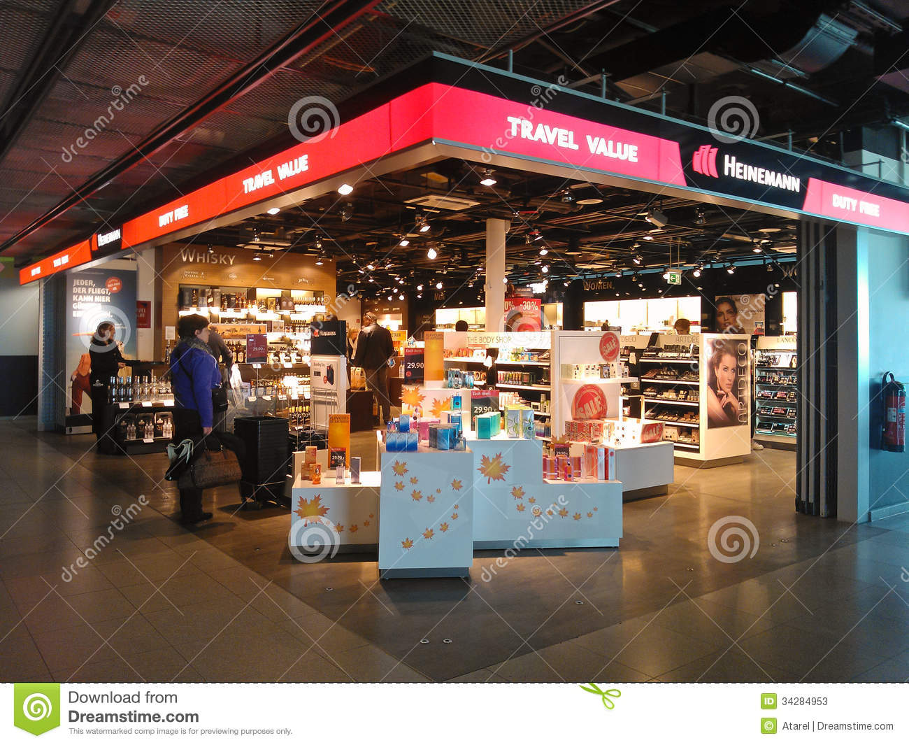 DUTY FREE SHOP Editorial Stock Photo - Image 34284953