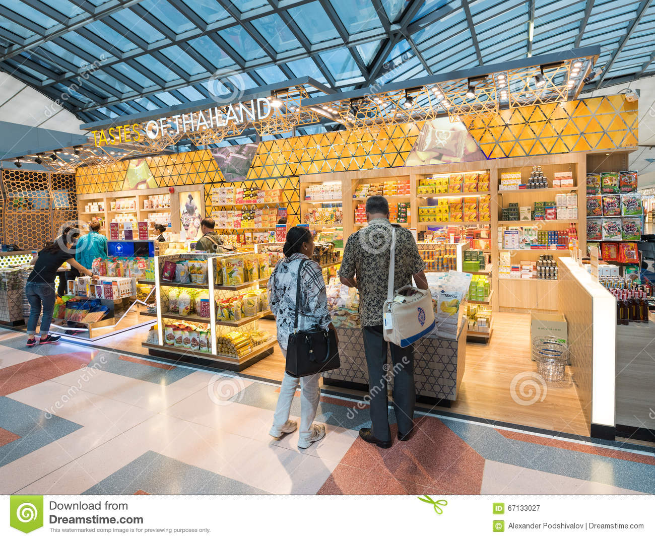 Duty Suvarnabhumi Airport Stock Photos Images Pictures