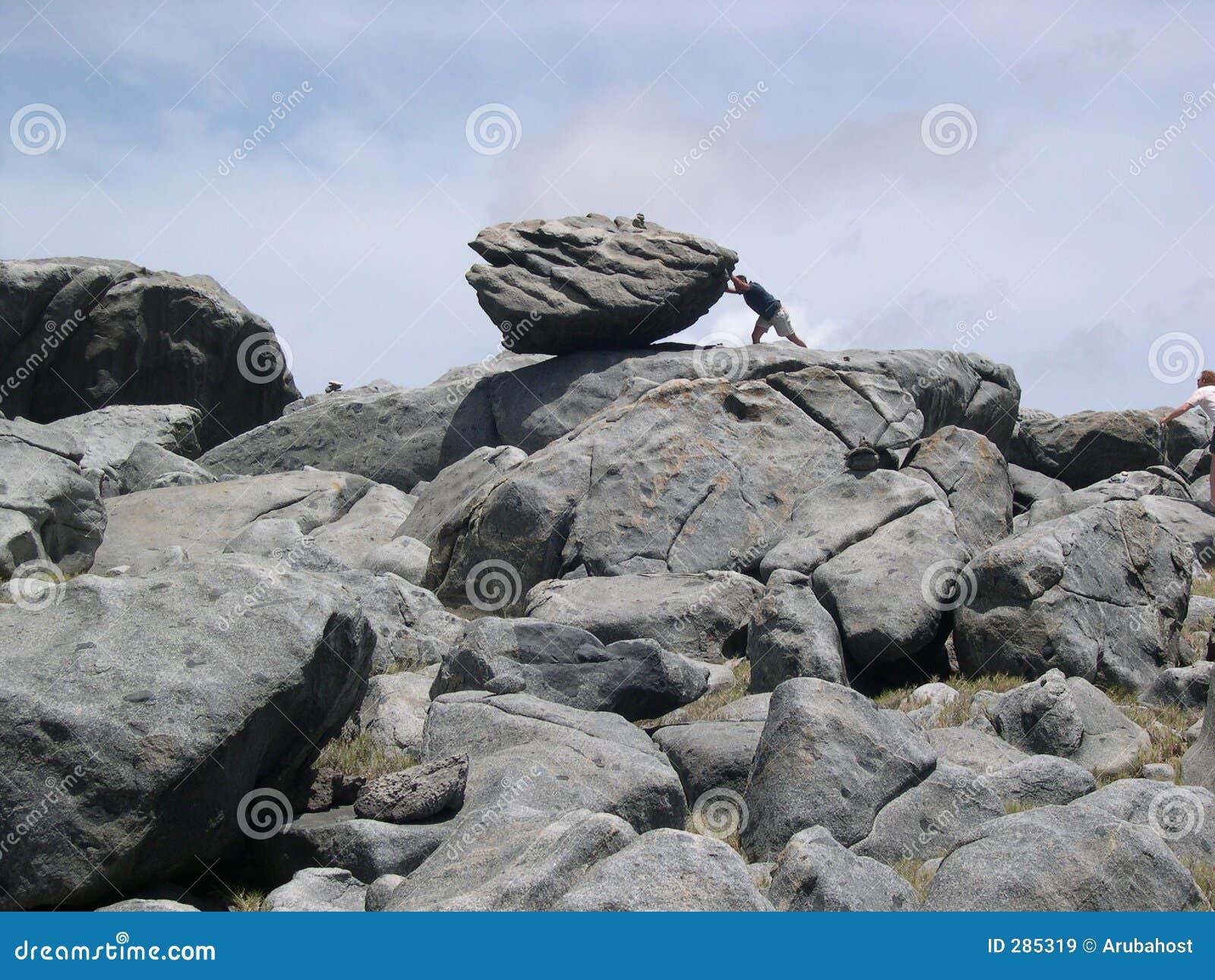 Duw de rots