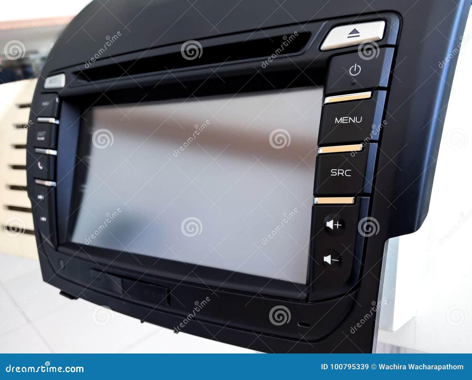 DVD-auto audiopaneel