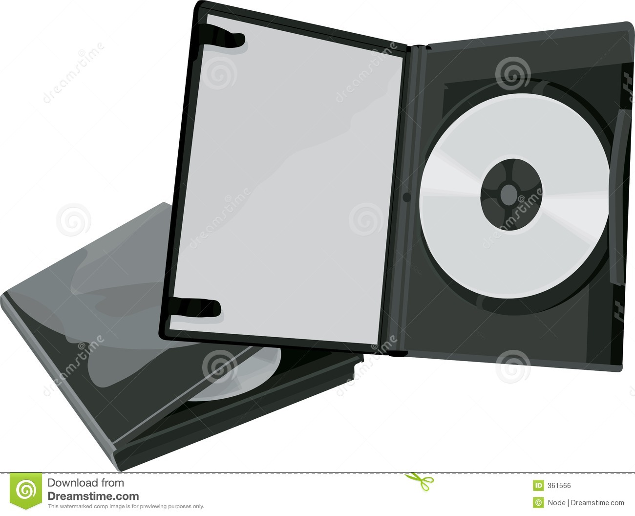 DVD Case And Stock Illustration Of Digital