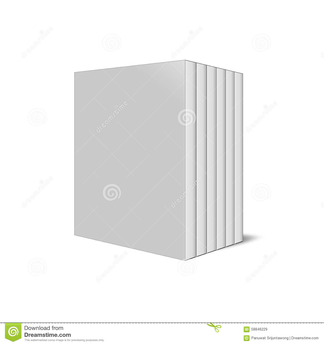 DVD or CD cases isolated on white