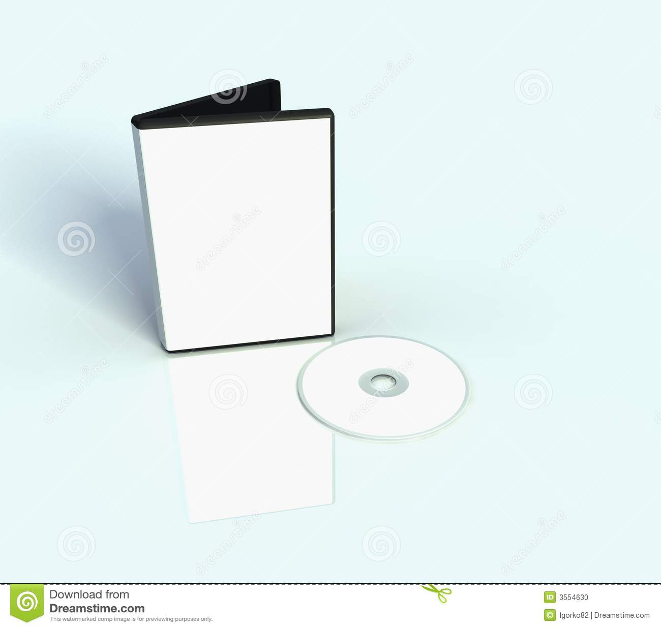 Dvd Cover Stock Photo - Image: 3554630