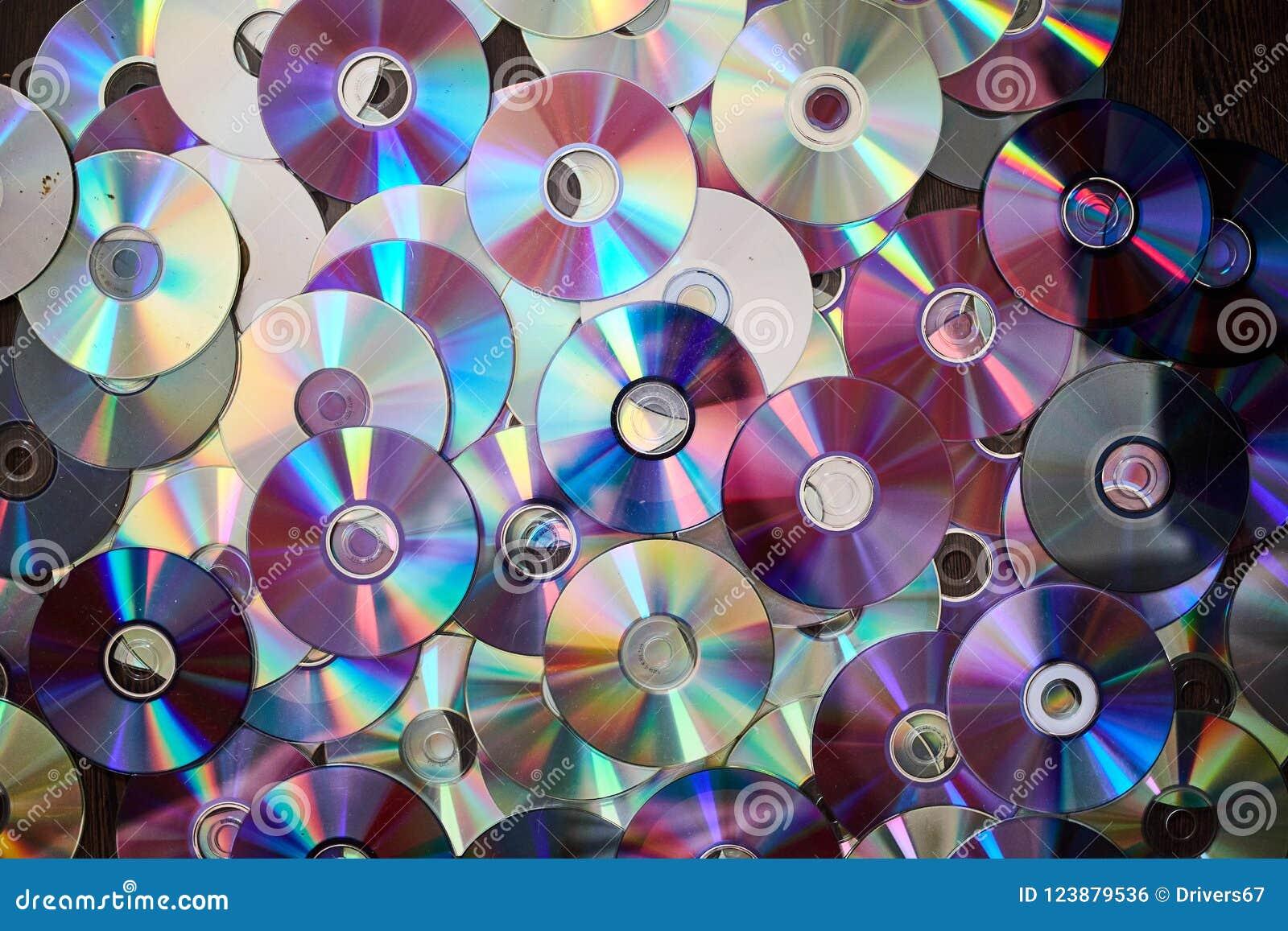 DVD e fundo CD