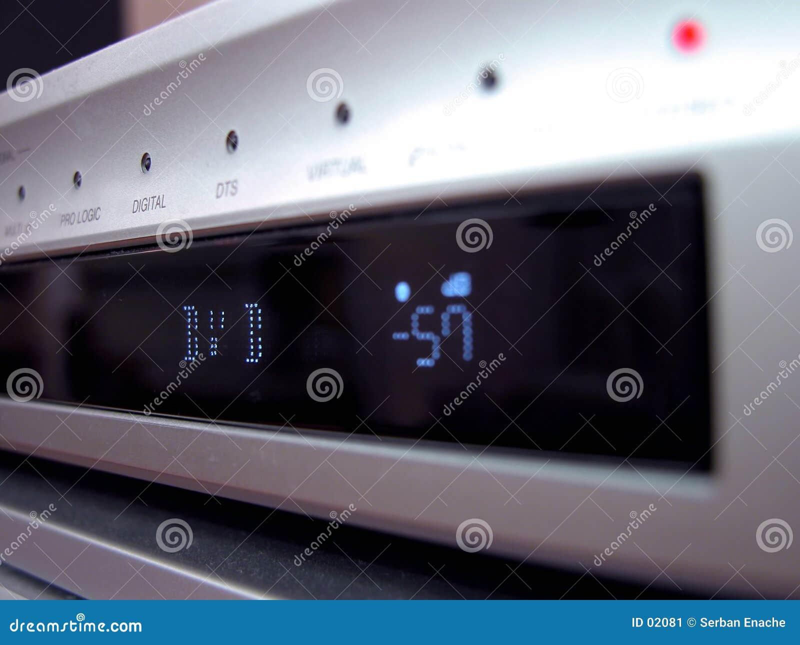 DVD paneelclose-up