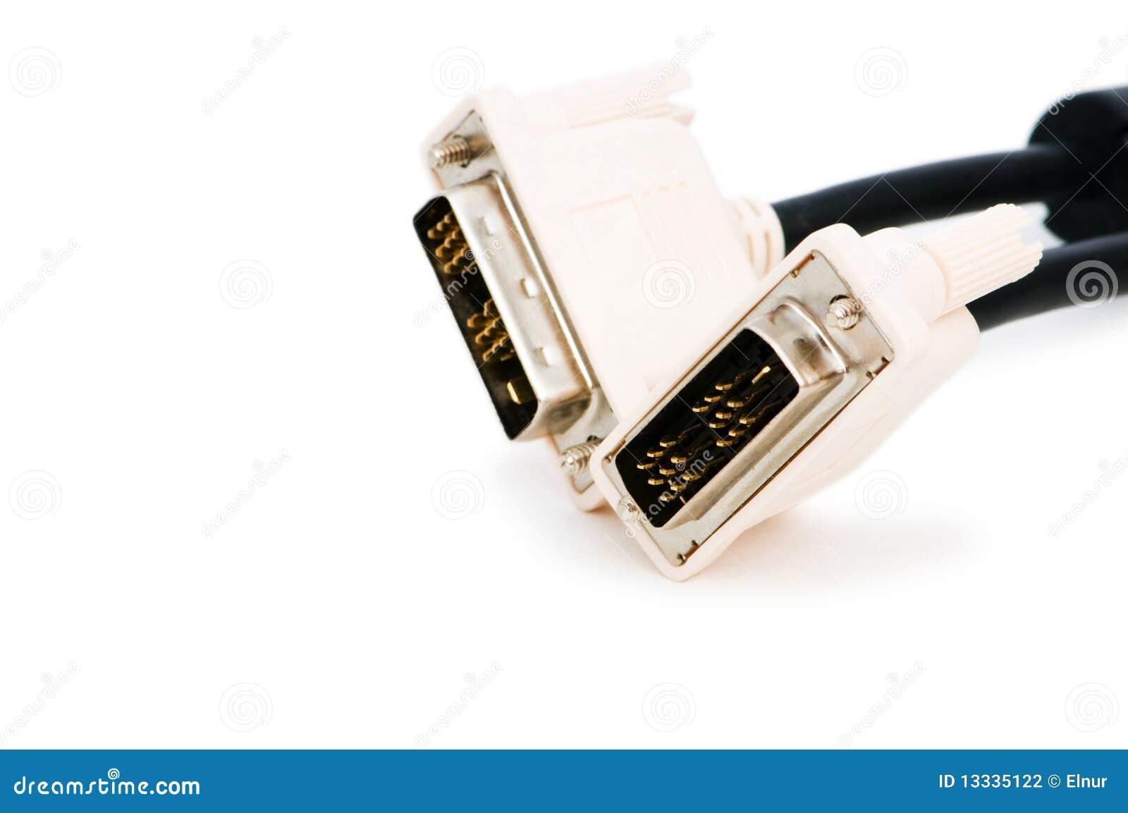 DVI kabel odizolowywający na biel