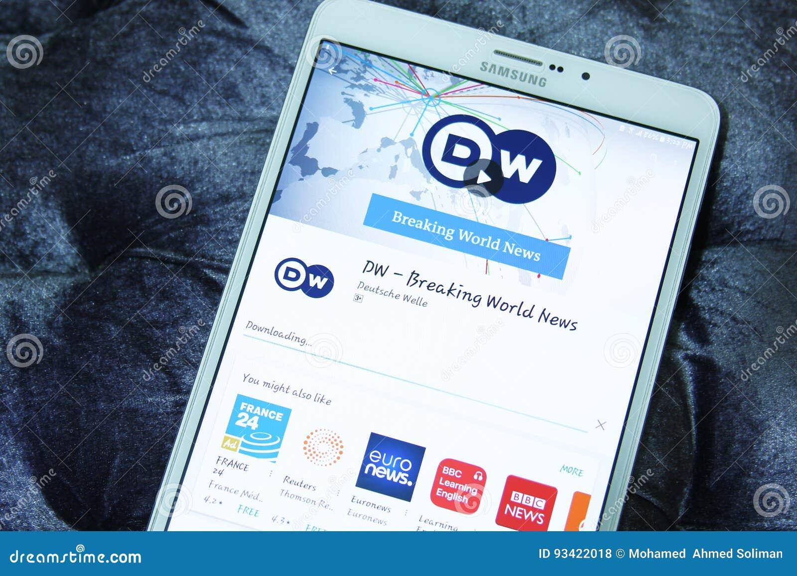 DW, deutsche Welle cassant les nouvelles du monde APP mobile