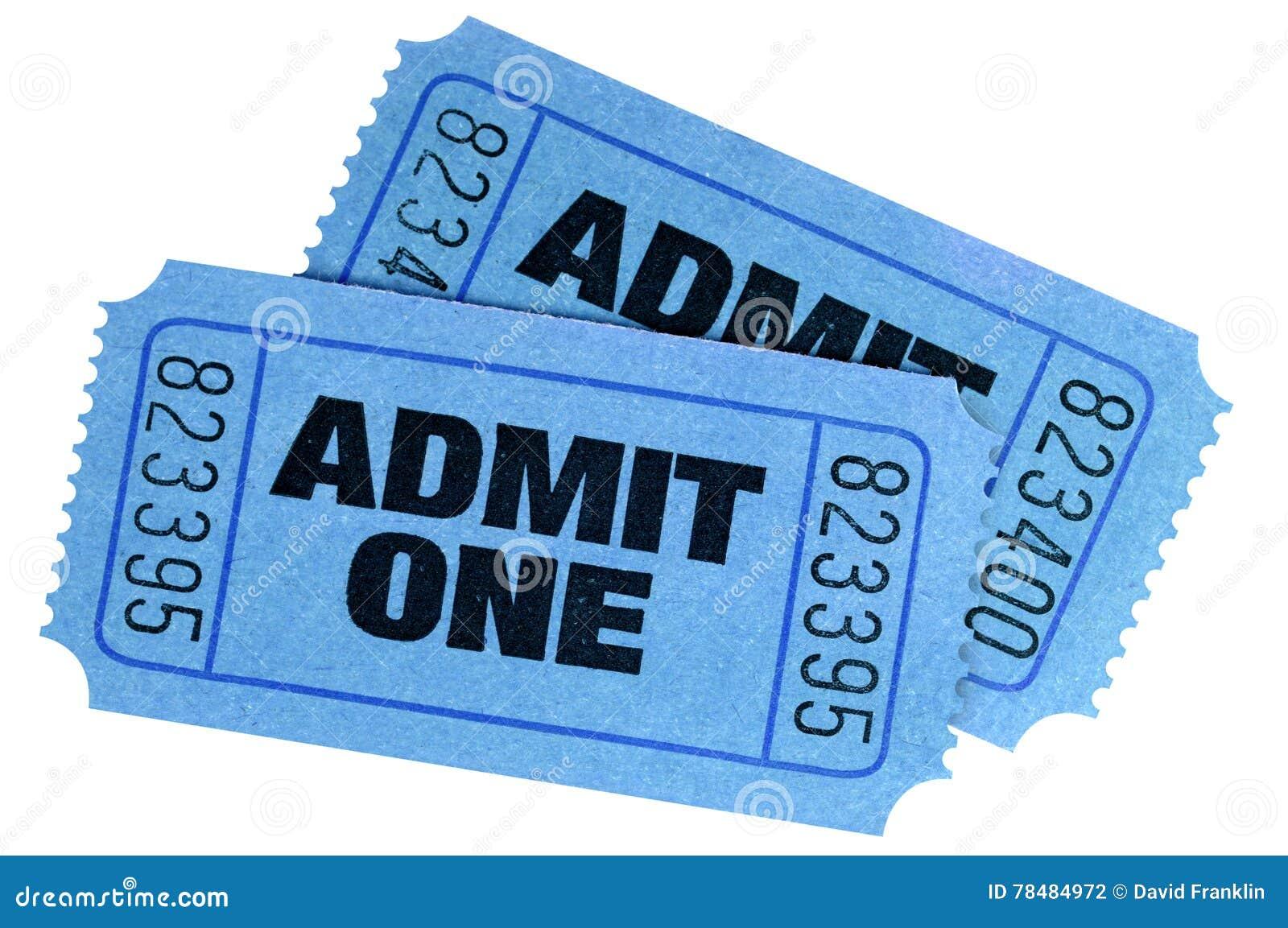 Dwa błękit przyznaje jeden bilety