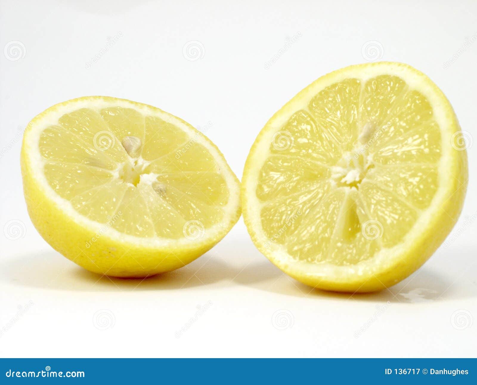Dwa cytrynowy