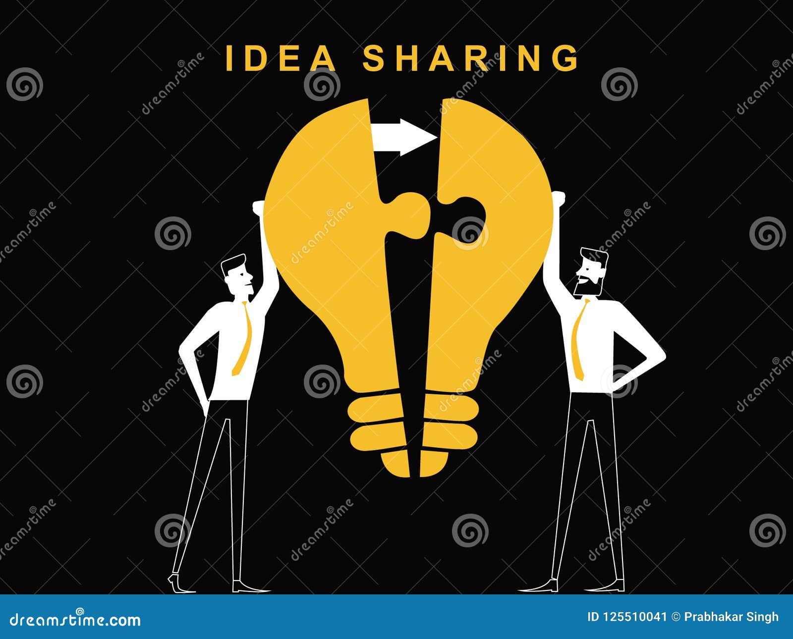 Dwa mężczyzna dzieli pomysł