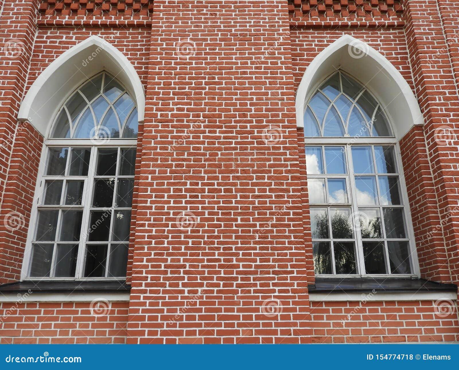 Dwa okno kawaleria korpusy w Tsaritsyno xviii wiek