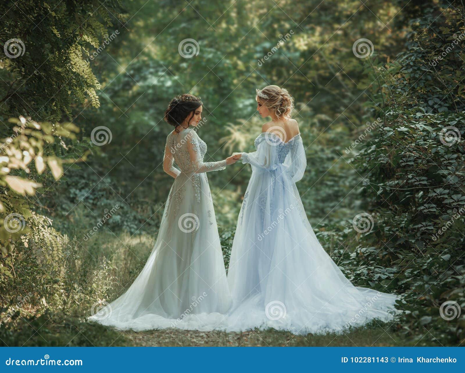 Dwa piękny princess