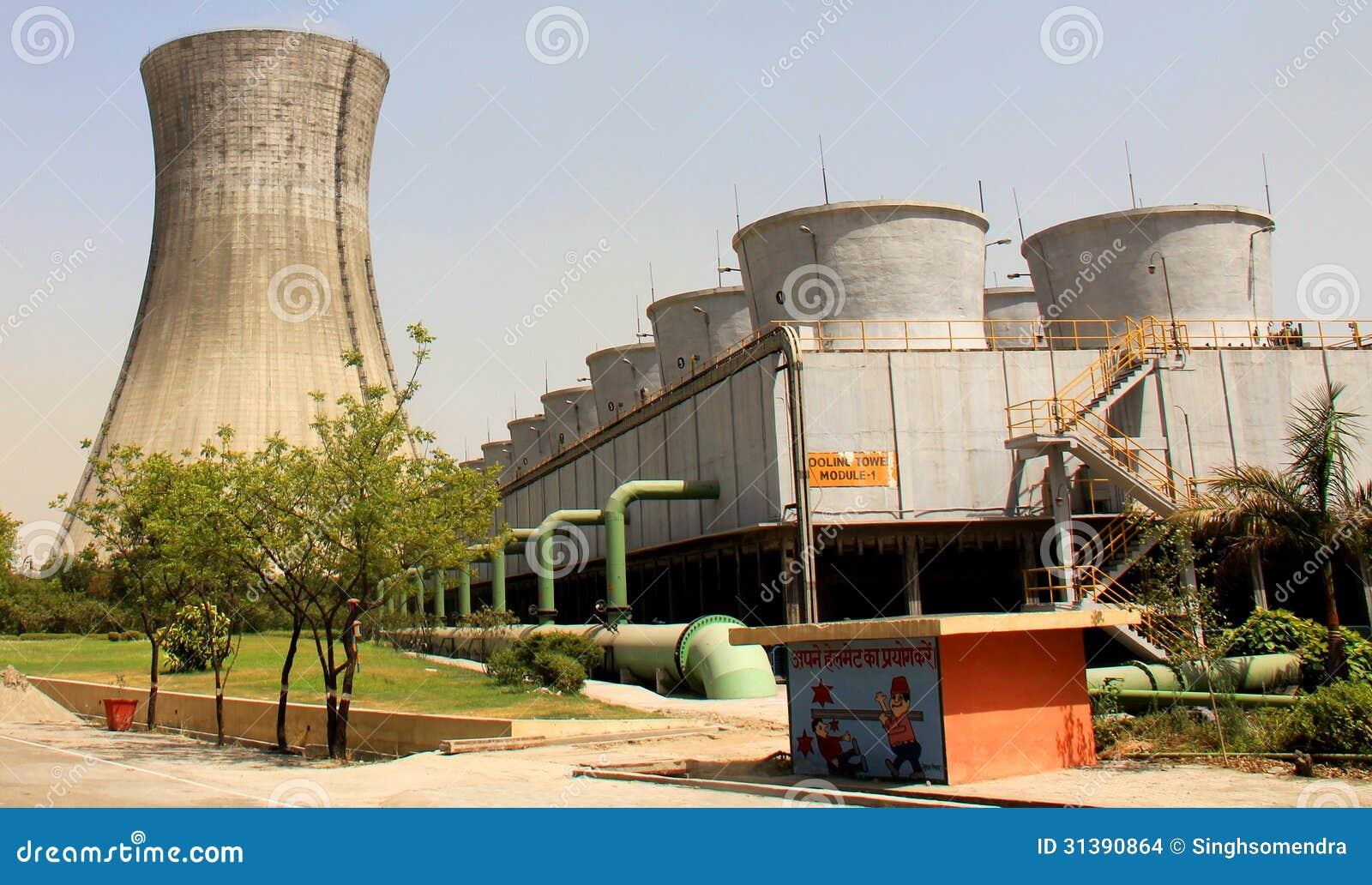 Dwa rodzaju Chłodniczy górują Termiczna elektrownia
