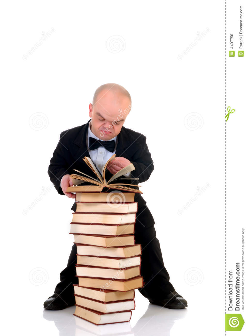 Dwarf, Little Man With Books Stock Photo - Image of male ... Dominant Man In Suit