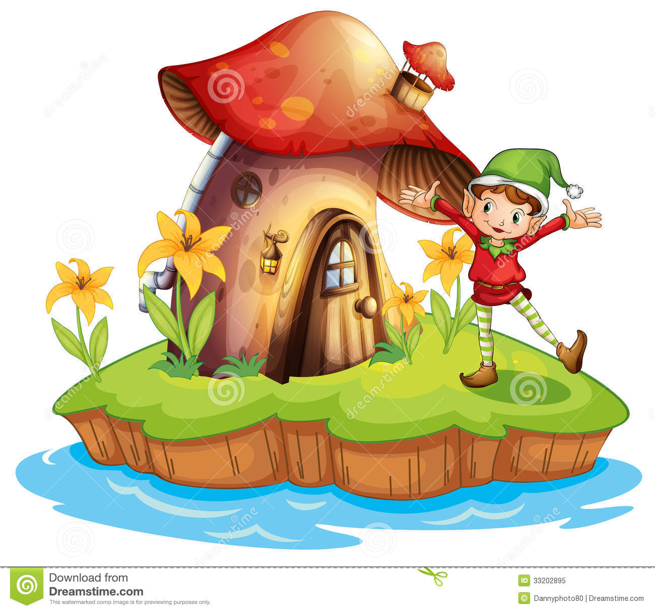 a dwarf outside a mushroom house royalty free stock photo pulling weeds clip art pulling weeds clip art