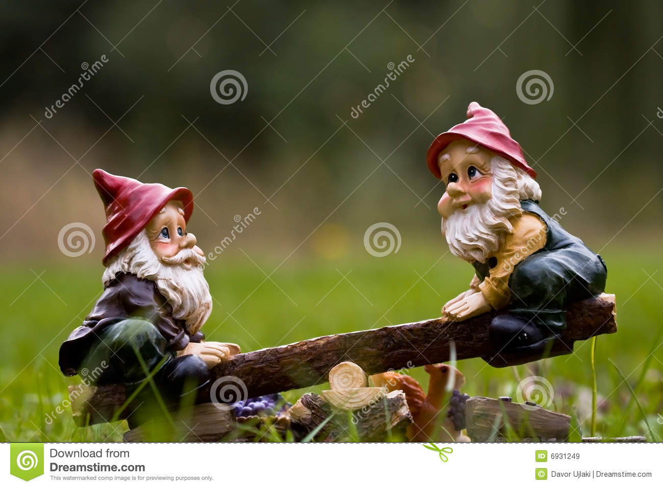 Dwarfs stock image. Image of gnomes, totter, happy, small - 6931249