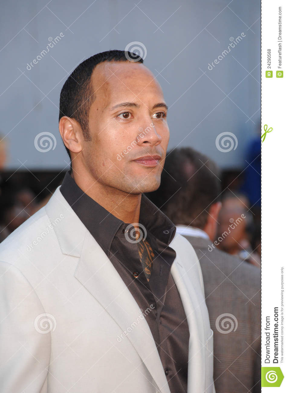 Dwayne editorial stock photo  Image of premiere, hollywood