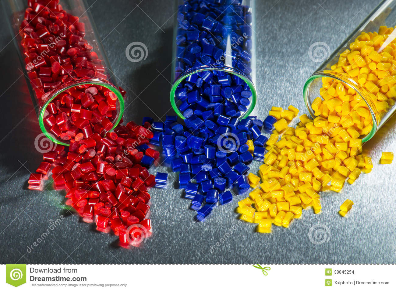 Dyed Plastic Resins Stock Photo Image Of Glass Dyed