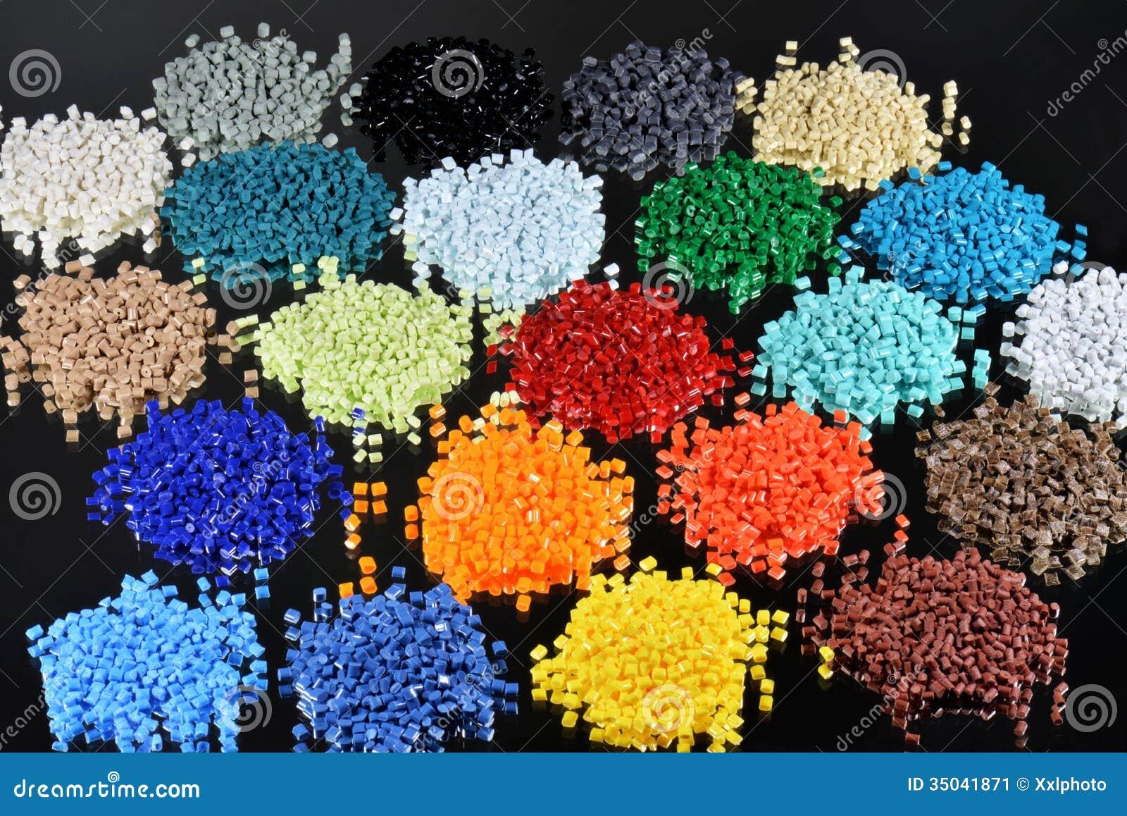 Dyed Polymer Resin Stock Image Image 35041871