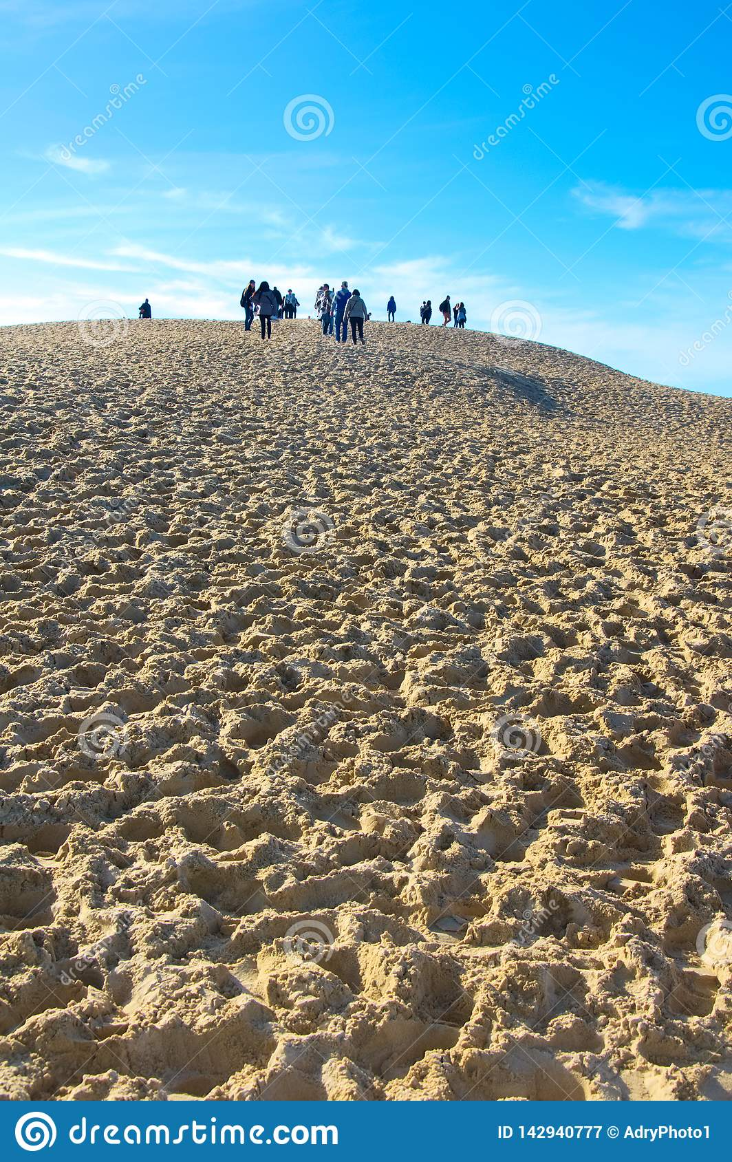 Dyerna av Pilat i Frankrike, det högst i Europa