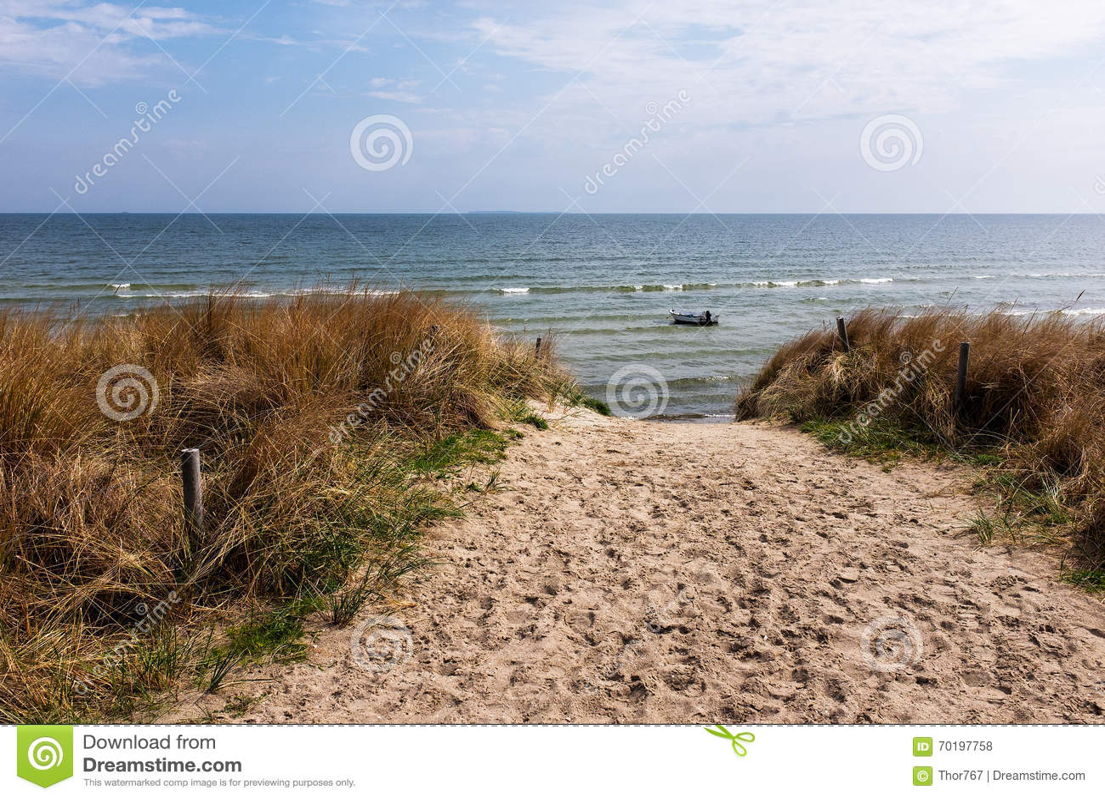 Dyn på Östersjön, Ruegen, Tyskland
