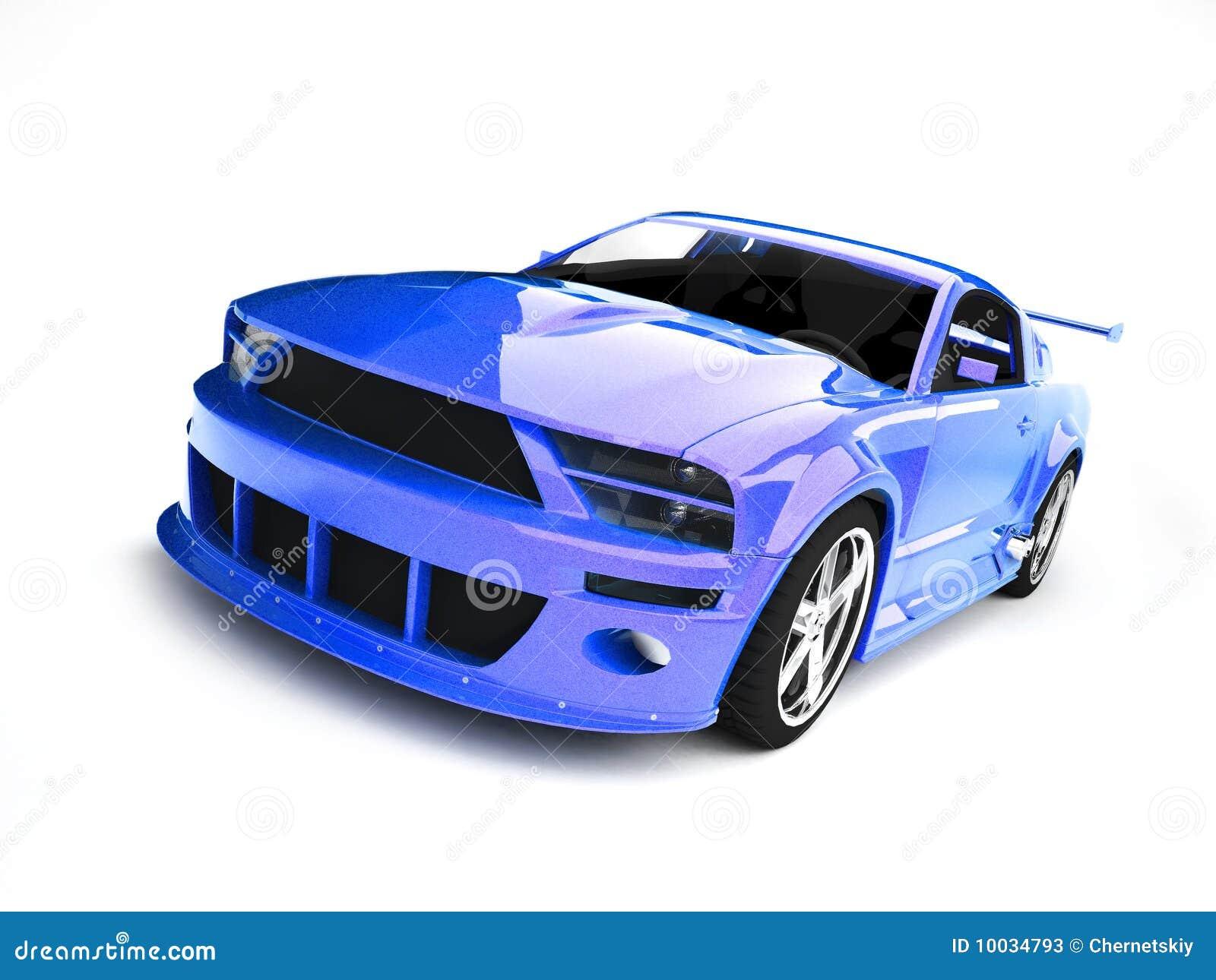 Dynamic Blue Sports