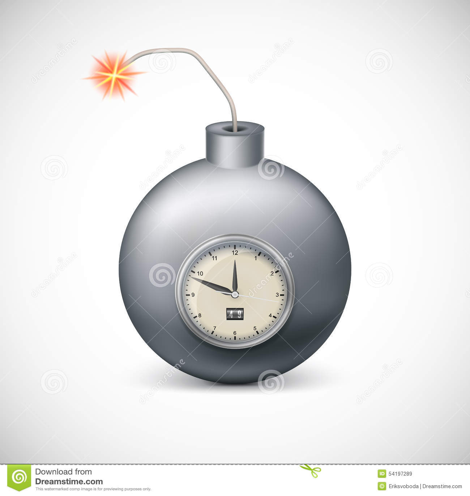 Dynamit med klockan