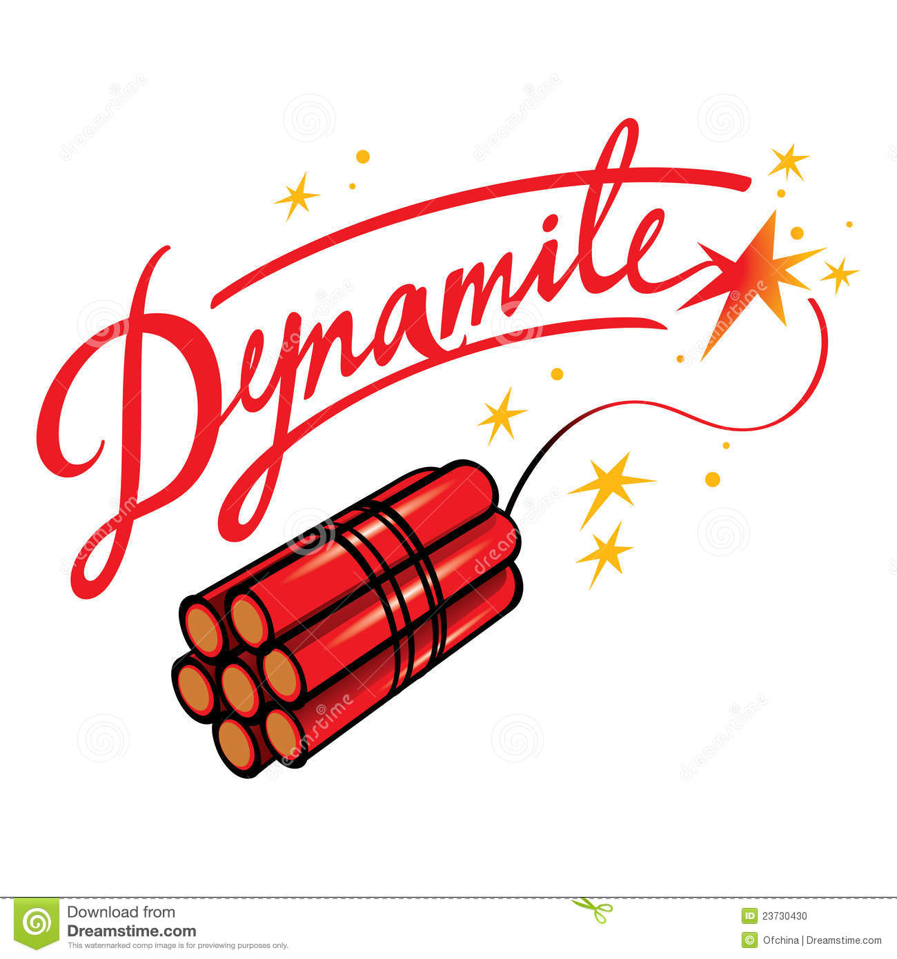 dynamite stock vector illustration of warning extreme 23730430 rh dreamstime com dynamite fishing clipart dynamite clipart free
