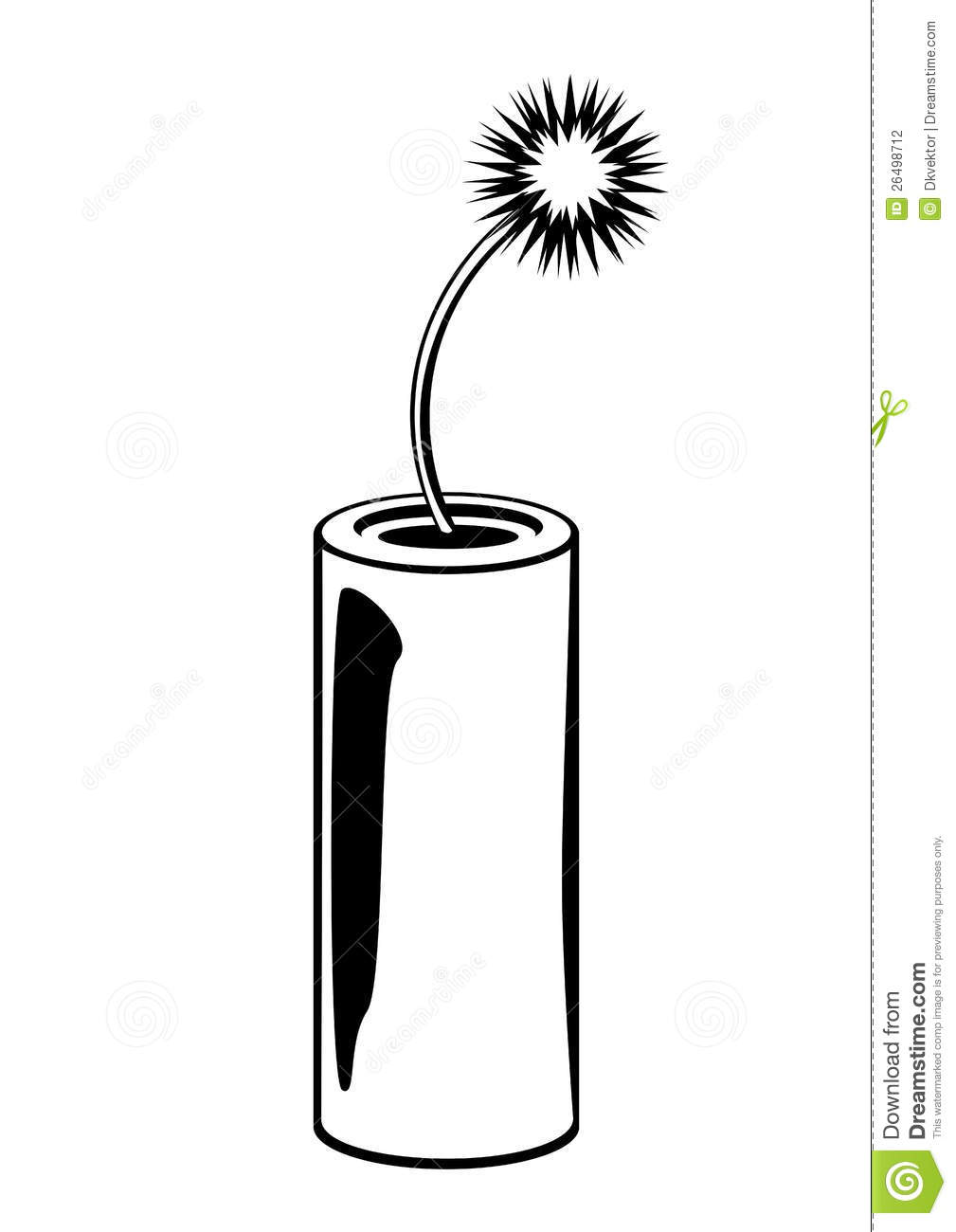 Dynamite Black And White Stock Photography Image 26498712