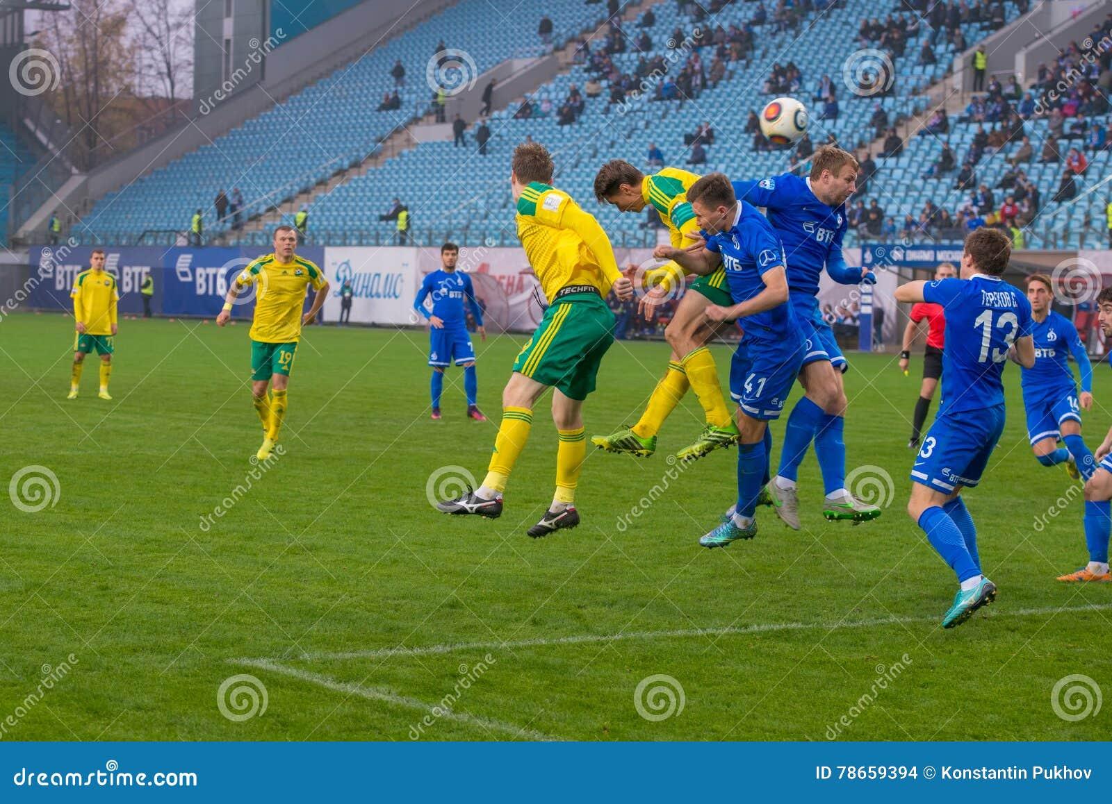 Dynamo Moscow Vs Kuban Krasnodar Editorial Stock Image Image Of Footballer Arena 78659394