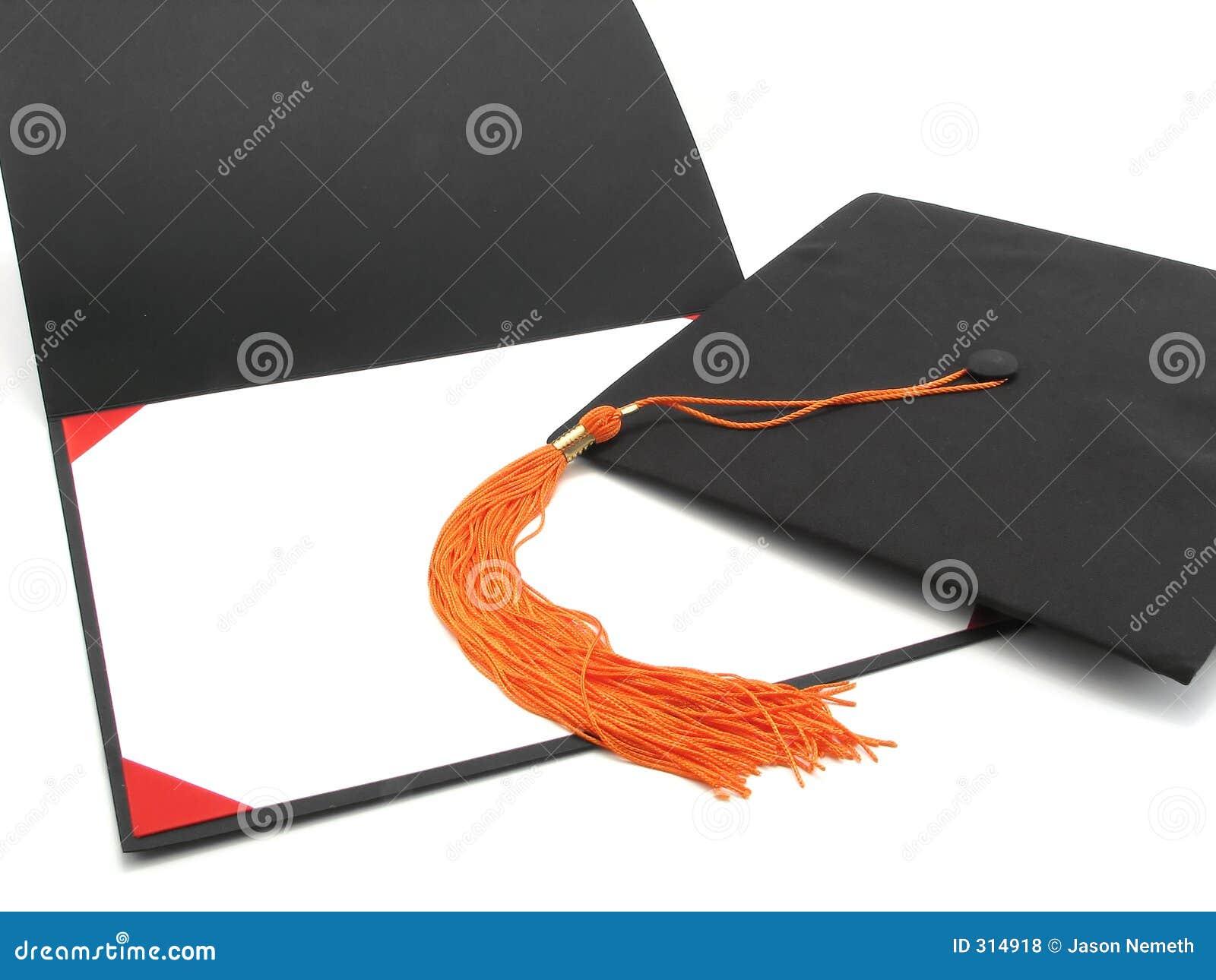 Dyplom ukończenia szkoły wpr pusta ramowej tassel