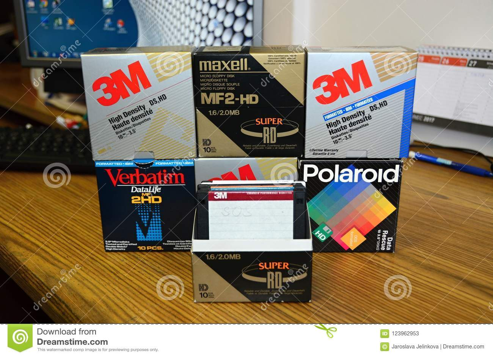 Dyskietki 3 5 3M `, Zastenografowany, maxell, polaroid