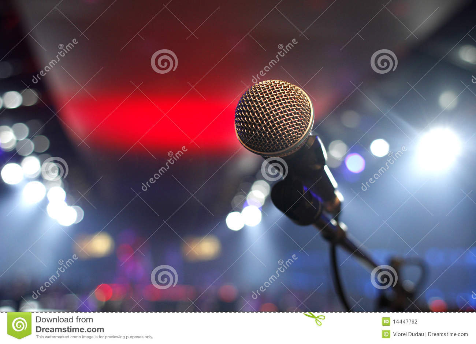 Dyskoteka mikrofon