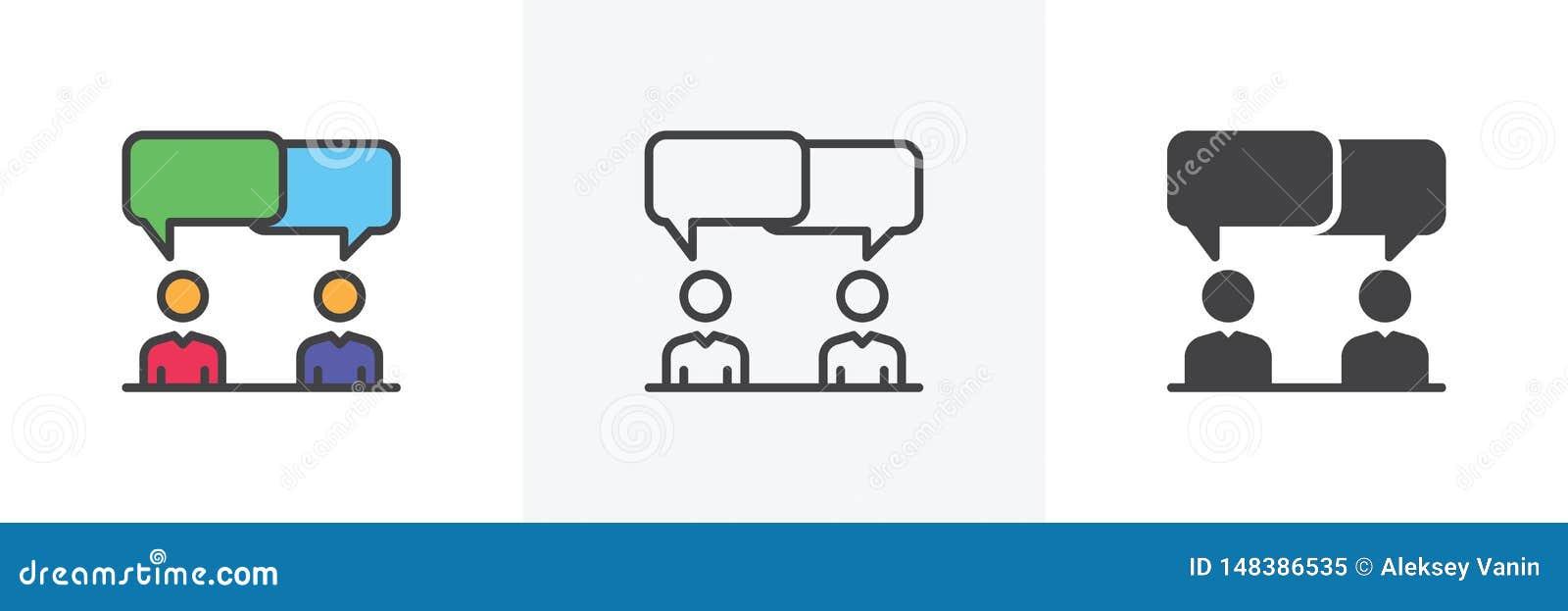 Dyskusja, sp?r ikona