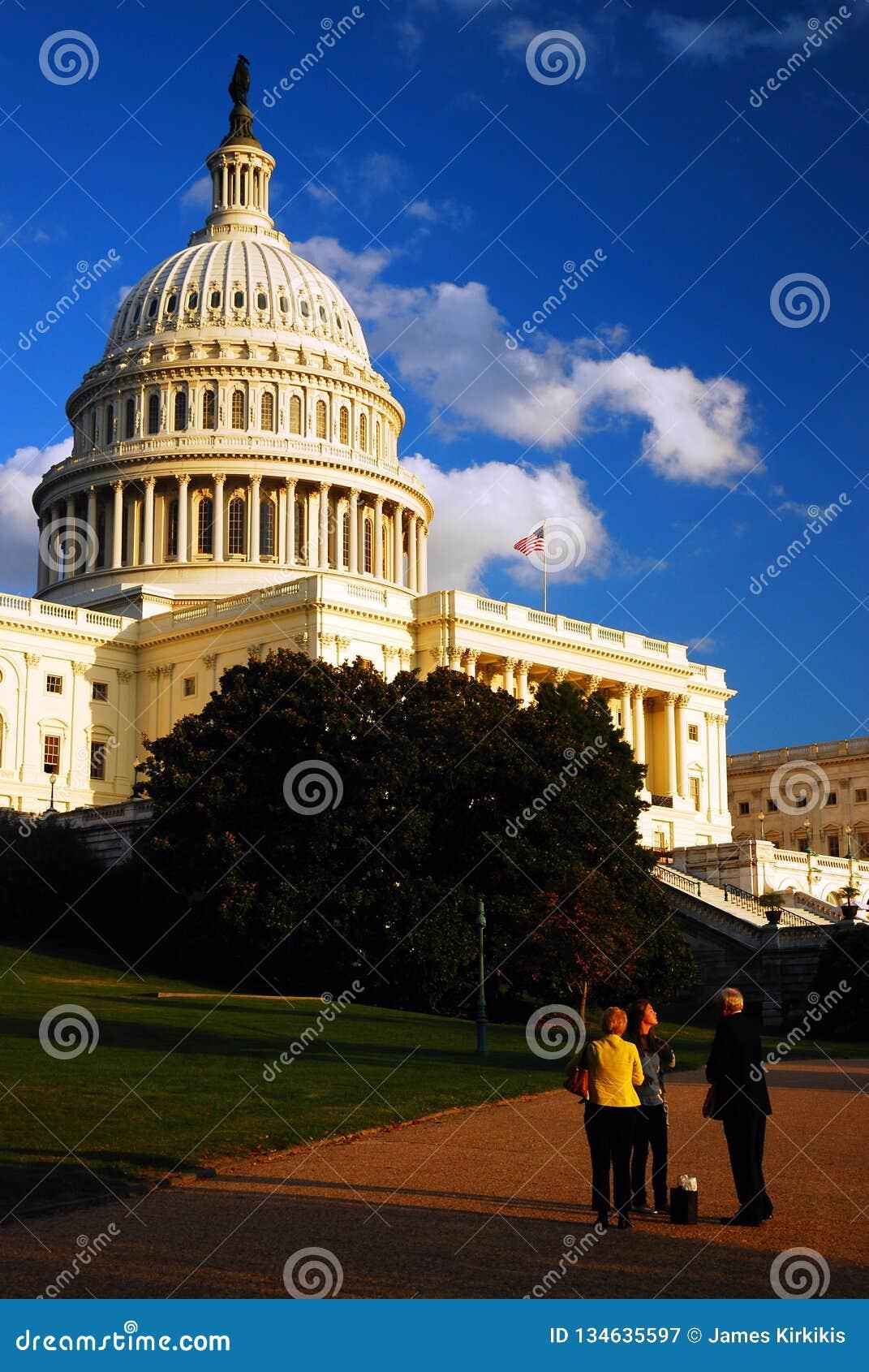 Dyskutować dni wydarzenia przy Capitol