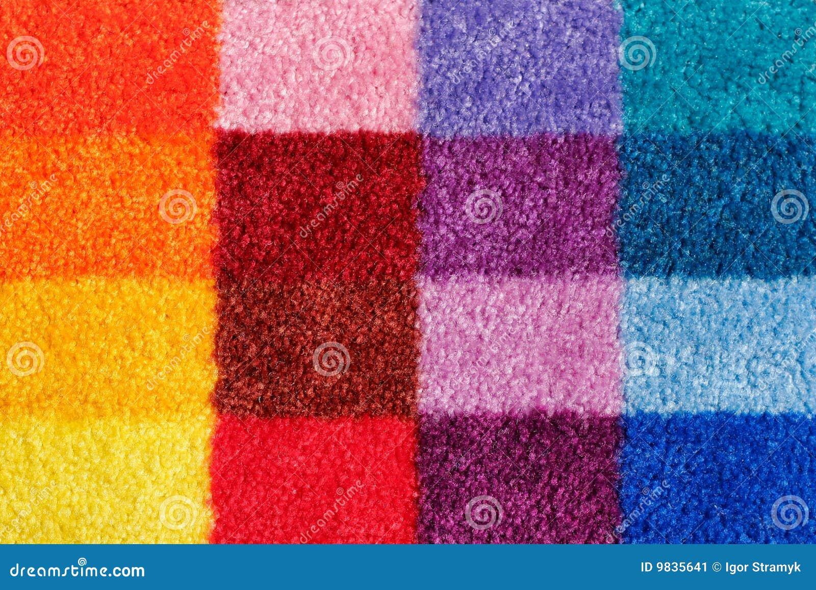Dywan barwiący