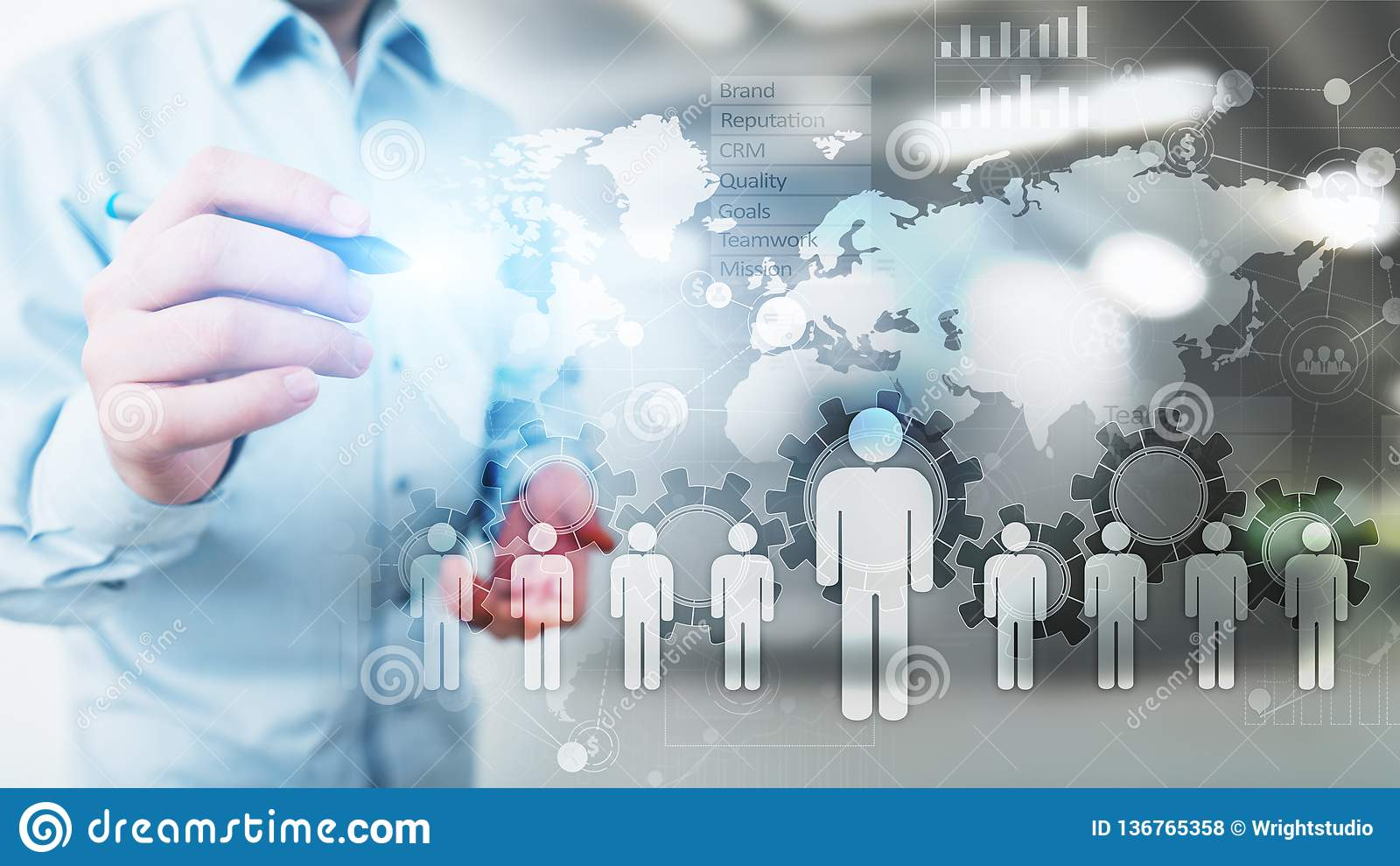 Dział Zasobów Ludzkich, HR zarządzanie, rekrutacja, talent Chcieli, Zatrudnieniowy Biznesowy pojęcie