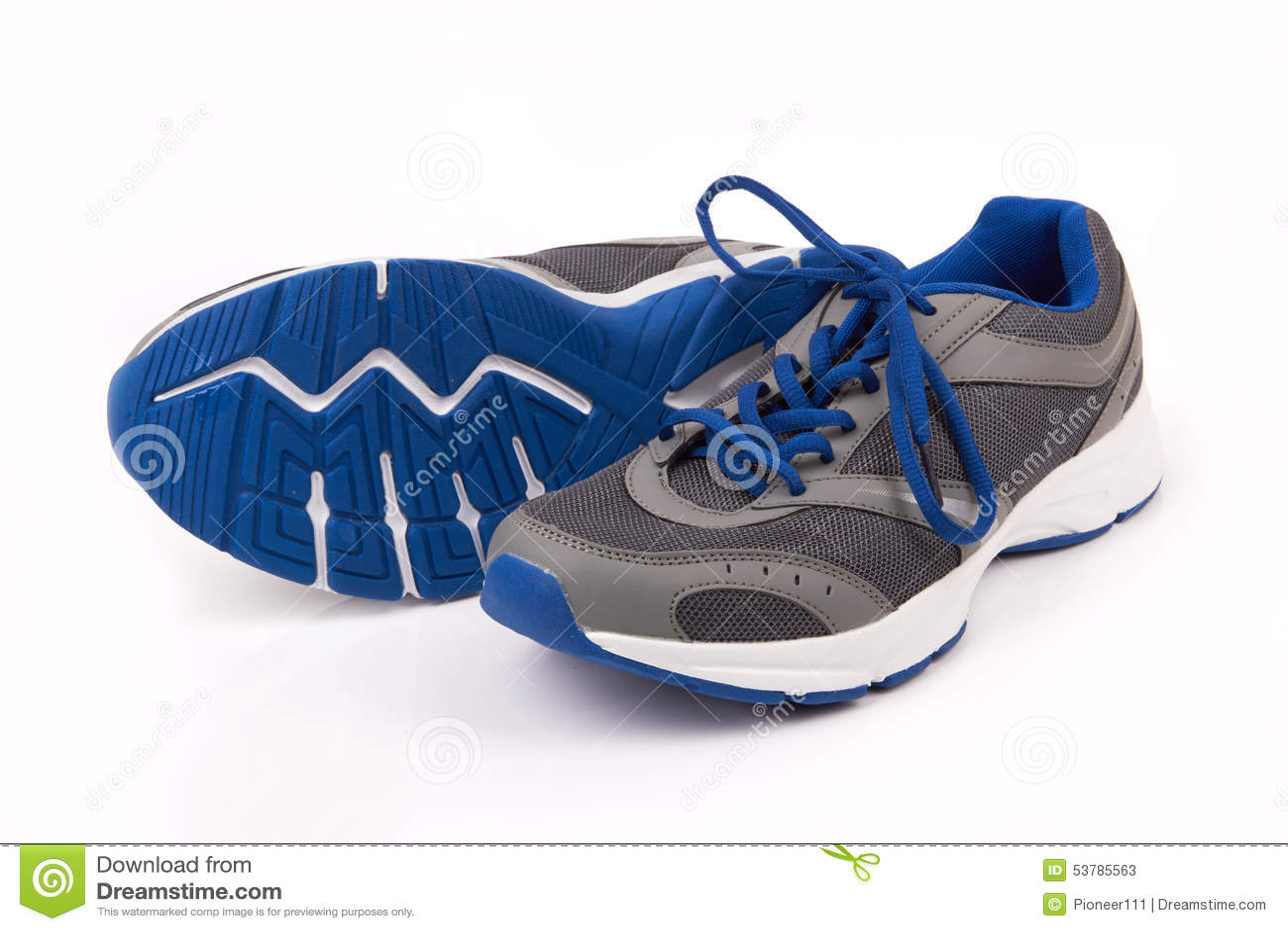Download Działający buty obraz stock. Obraz złożonej z stopa, shoelace - 53785563