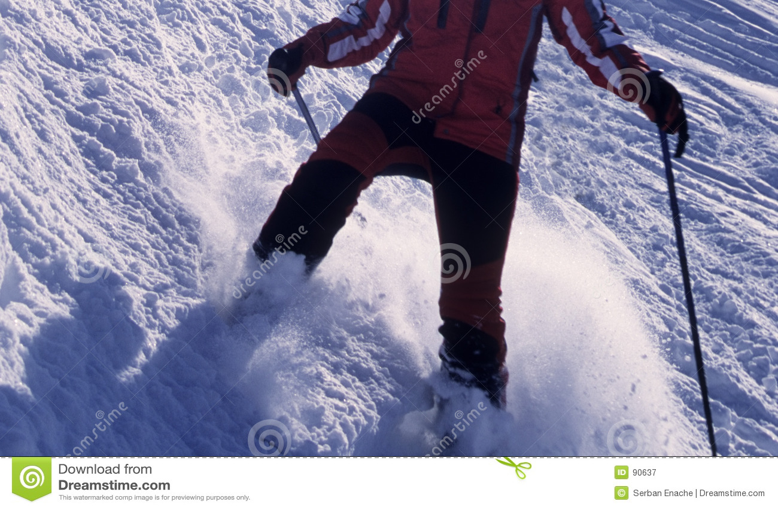 Działania narciarka
