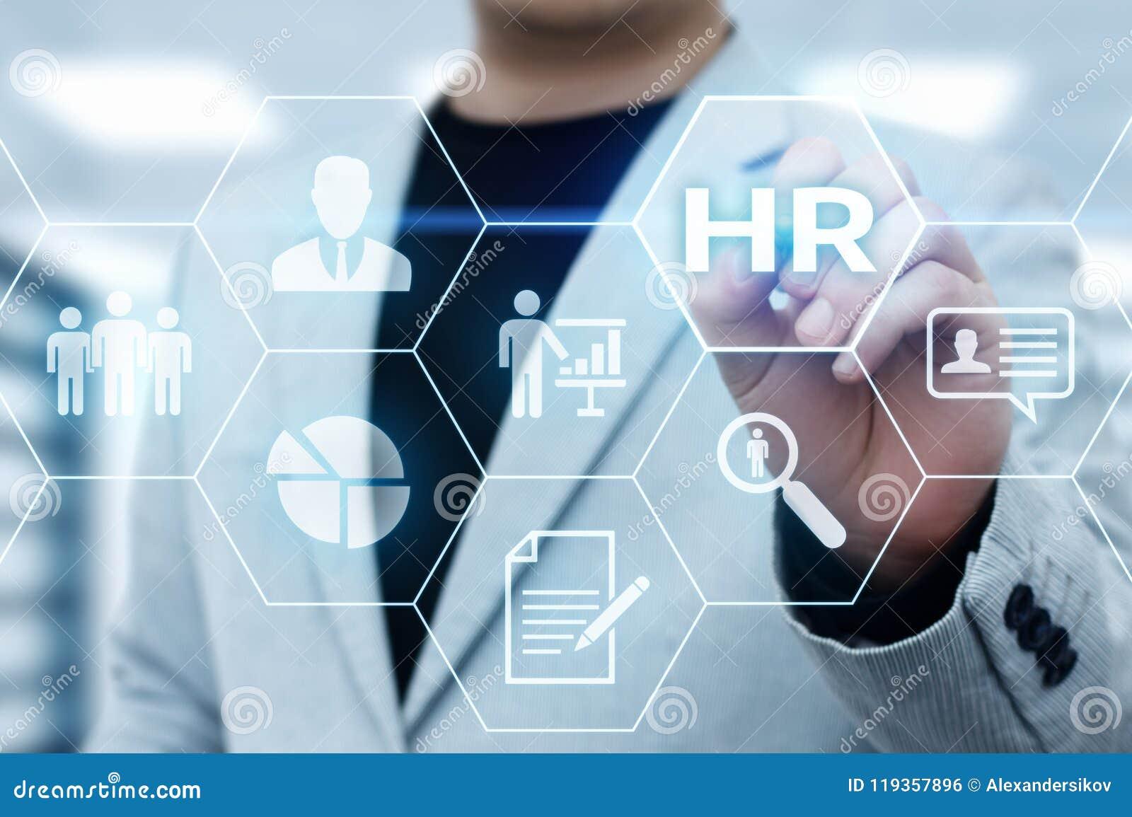 Działu Zasobów Ludzkich HR zarządzania Headhunting Rekrutacyjny Zatrudnieniowy pojęcie