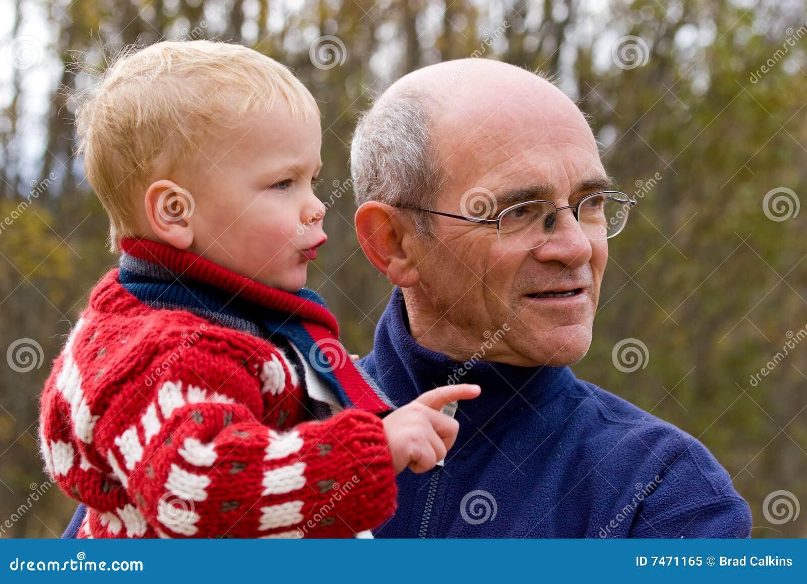 Dziadek wnuk
